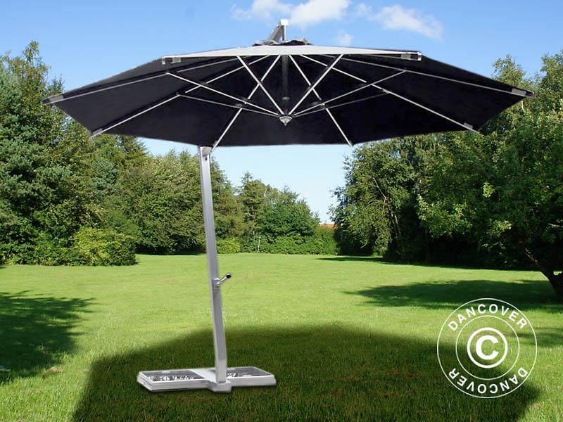 Trädgårdsparasoller för skugga och komfort på soliga sommardagar