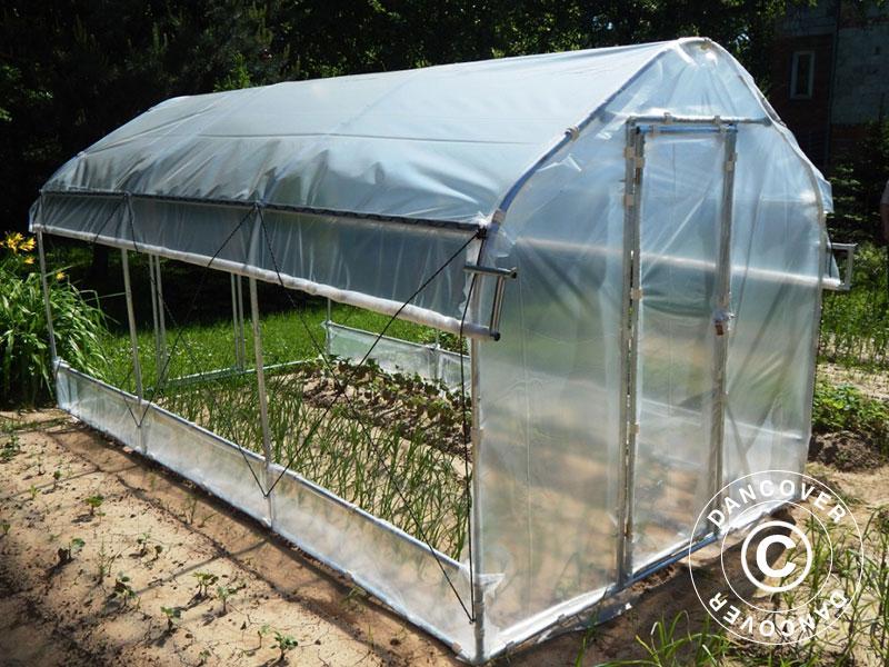 Polytunnel växthus kommer skapa underverk i din trädgård