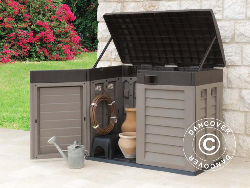 Förvaringskistor för trädgården från Dancover