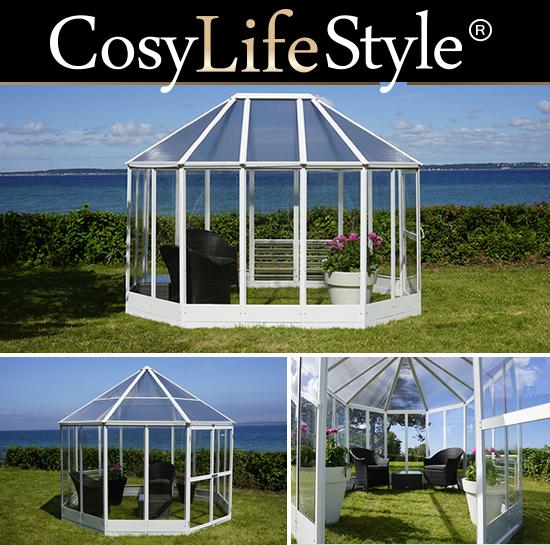 Orangeri för odling och atmosfär i din trädgård