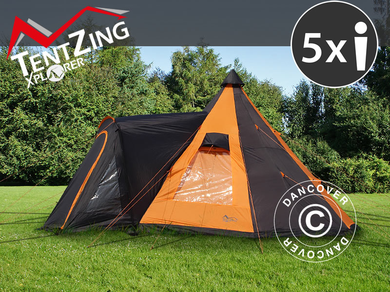 Campingtält från TentZing® Xplorer – fantastisk funktionalitet, design och komfort