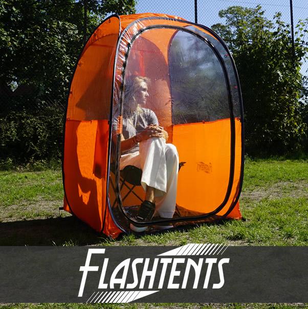 Spectator pop-up tält för utomhussport och mer!