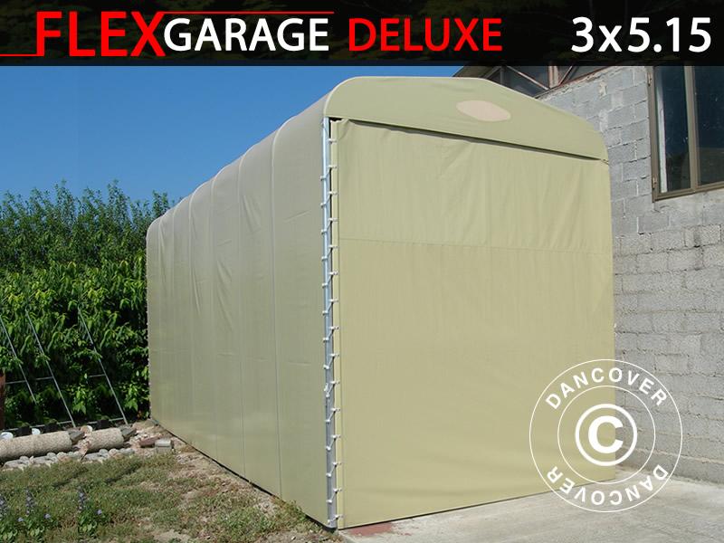 Hopfällbart garage MC. Hopfällbart garage (MC) 1,88x3,45x1